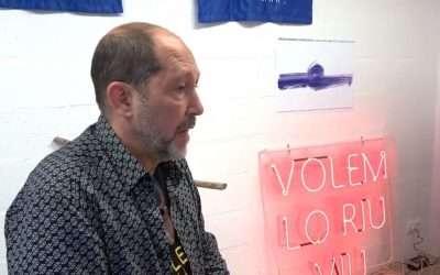 Alvar Calvet o l'ART a RIU OBERT