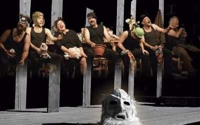 Zona Zàlata i l'Aula de teatre de la URV estrenen espectacle escènic a Saragossa